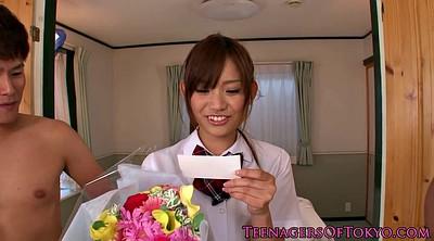 Asian, Japanese, Japanese small, Japanese handjob, Japanese schoolgirl, Threesome creampie