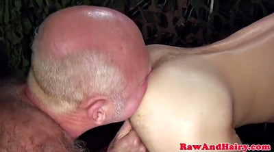 Leather, Bear, Cum in mouth, Hairy mature, Gay leather, Cum in ass
