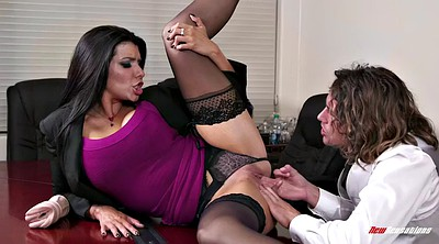 Office, Romi rain, Boss, Eat