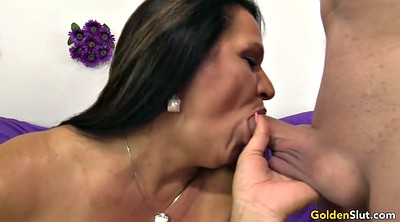 Old woman, Woman, Big woman, Mature blowjob, Mature woman, Young woman