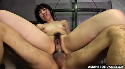 Double, Japanese threesome, Handcuffed, Japanese orgasm, Japanese bdsm, Japanese slave