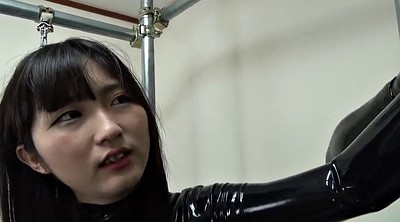 Asian bondage, Japanese black, Black japanese, Asian black, Catsuit