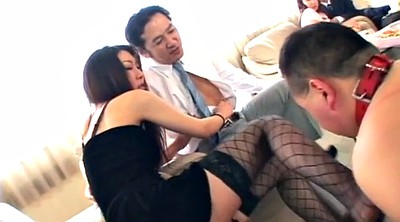 Party, Licking, Japanese bdsm, Japanese group