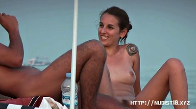 Nudist, Voyeur beach, Nudist beach, Outdoors