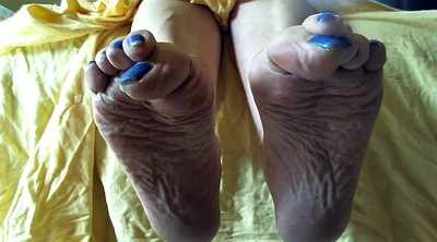 Mature foot, Mature feet, Feet sole