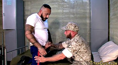 Muscle, Soldier, Hairy fuck