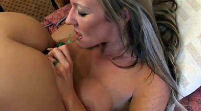 Pierced, Milf lesbian, Insertion, Long toy