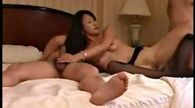 Japanese milf, Japanese threesome