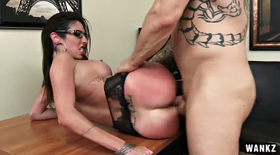 Spanked, Office fuck