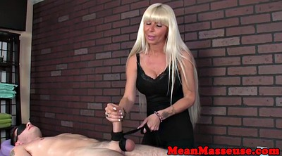 Mature massage, Blindfold