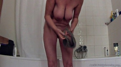 Saggy, Saggy tits, Hidden shower, Hidden cam, Big nipples, Saggy nipples
