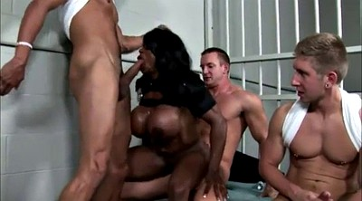 Prison, Big cock cumshot, Mature and black