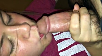 Cum swallow, Amateur cum in mouth