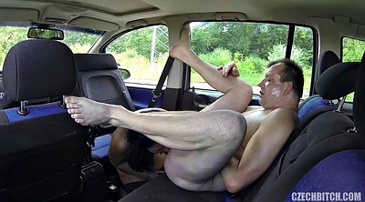Old young, Czech taxi, Big nipple