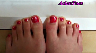 Asian foot, Korean foot, Asian feet