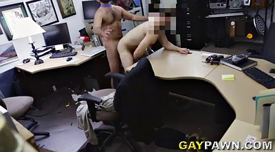 Officer, Office gay, Tight asshole