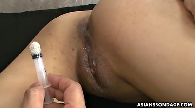 Injection, Japanese bdsm, Missionary gay, Gay orgasm, Creampies