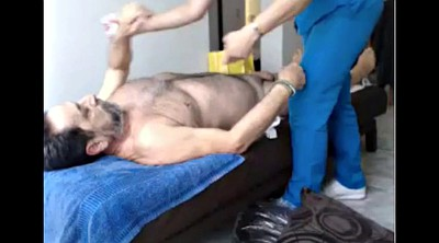 Grandpa, Old and young, Young massage