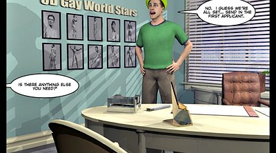 Cartoons, Comic, Picture, Gay gangbang, Studio, Gay group