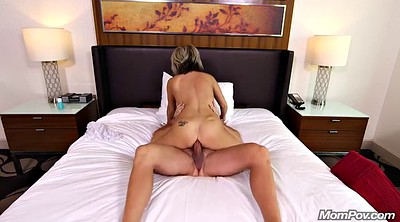 Mom pov, Mom anal, Pov mom, Anal mom, Mom blonde