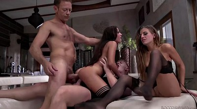 Sis, Foursome, Ass to mouth, Italian anal, Foursome anal, European