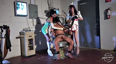 Mistress handjob, Nurse, Mistress