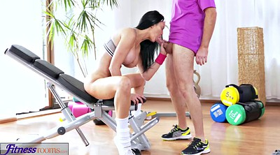 Yoga, Gym, Creampie mature, Busty anal, Mature creampie