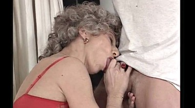 Anal mature, French granny