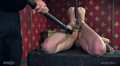 Whipping, Tied, Hard whipping, Gag