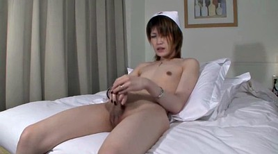 Japanese shemale, Japanese cumshot