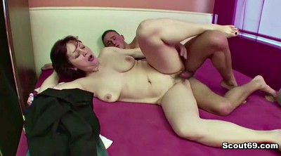 Russian mature, Stepmom stepson, Skinny mature
