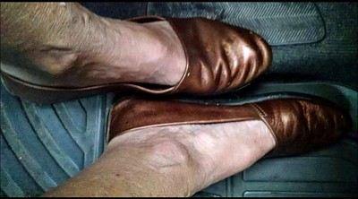 Shoes, Shoe, Mature feet, Granny masturbation, Granny feet