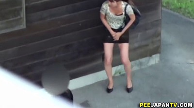 Spy, Asian girl, Asian public, Public pee, Outdoor pee, Asian compilation