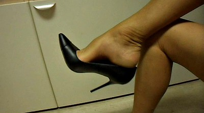Shoe, Nylon, Foot nylon, Nylon feet