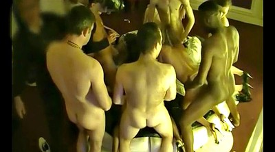 Swingers party, Private, Group sex party