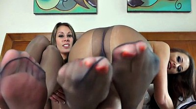 Pantyhose foot, Girl foot, Foot pantyhose