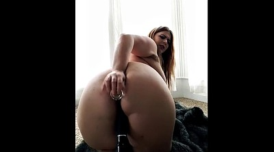 Bbw striptease, Anal toy