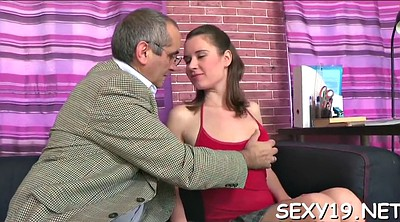 Old anal, Russian teacher