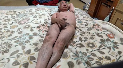 Japanese handjob, Asian granny, Japanese granny