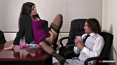 Rain, Femdom office, Seduced, Romi rain, Office lady