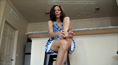 Milf feet, Feet jerk off