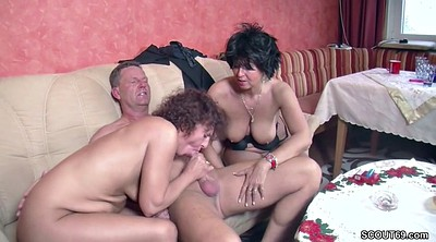 Stranger, Mom seduce, German mom, Mom seduced, Mom fuck
