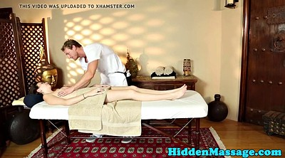 Beautiful, Hidden cam, Hidden massage