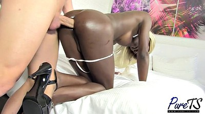 Shemale creampie, Blacked creampie