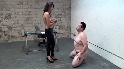 Slave, Asian femdom, Ball busting, Asian feet, Balls busting