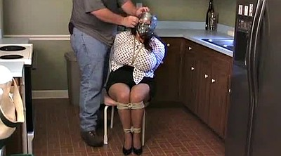 Kitchen, Kitchen mature, Bound tits