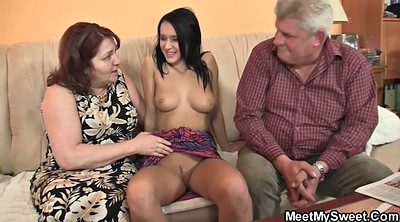 Seduce, Young couple, Young old, Mature couple, Couple threesome, Couple mature