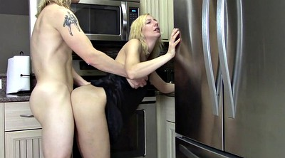 Kitchen, Mom creampie, My mom, Creampie mom