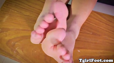 Trans, Shemale foot, Shemale feet, Love her feet, Love feet, Love foot
