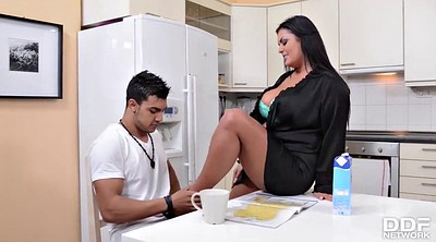Mom and son, Son fuck mom, Step son, Jasmine black